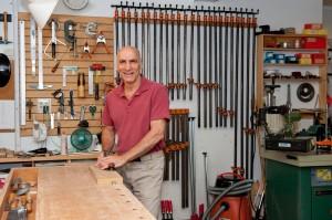 Jim Picardi in his workshop